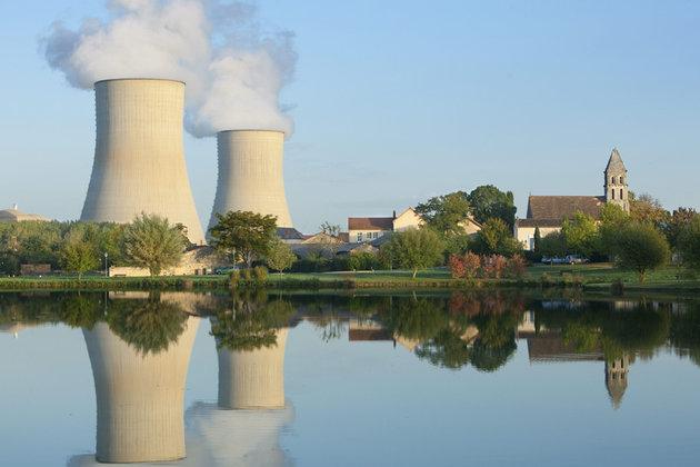 centrale nucléaire banc de charge